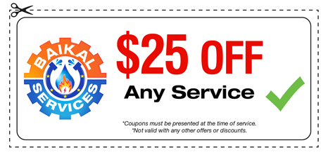 Baikal Services Coupons / Any Service Coupon