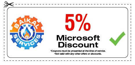 Baikal Services Discounts / Microsoft Discount Coupon