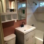 After - Add Vanity and Medicine Cabinet / Baikal Services / Baikal Plumbing / Plumbing in Everett, plumbing in Seattle, Snohomish County, King County