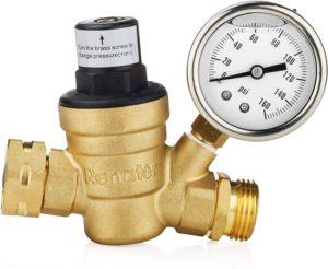 Plumbing water pressure regulator valve, water pressure problems, causes of low water pressure problems, Pressure Reducing Valves (PRV)